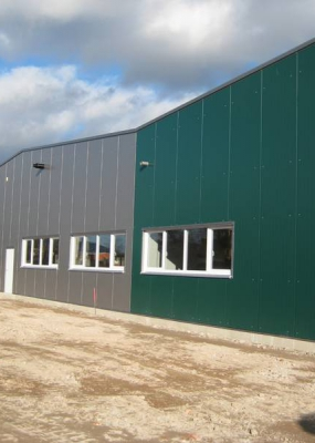 Neubau Werkstatthalle Christopherushof