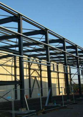 Neubau Produktionshalle Luxemburg