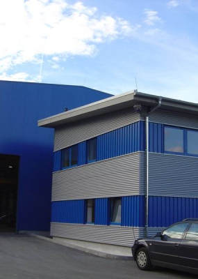 Neubau Profilstahlzentrum Thüringen