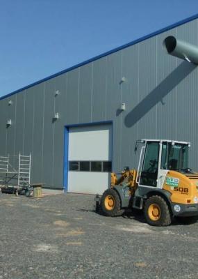 Neubau Produktionshalle Büttner