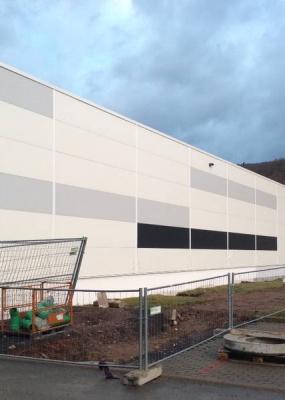 Neubau Lagerhalle Riwotech