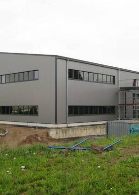 Neubau Produktions- und Lagerhalle Bergler