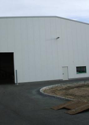 Neubau Aufbereitungshalle WIPAG Nord