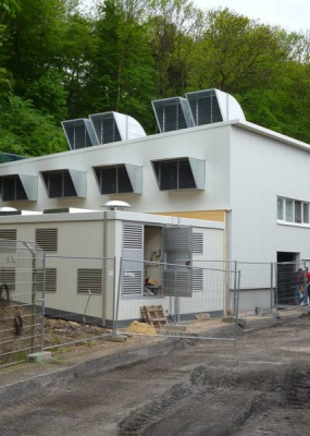 Neubau Kompressorstation Viega