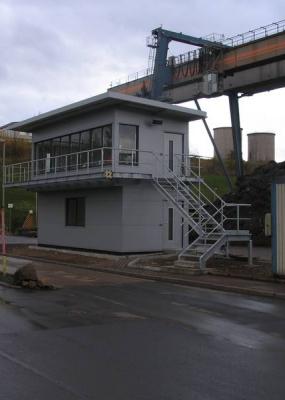Neubau Wiegehaus SWT