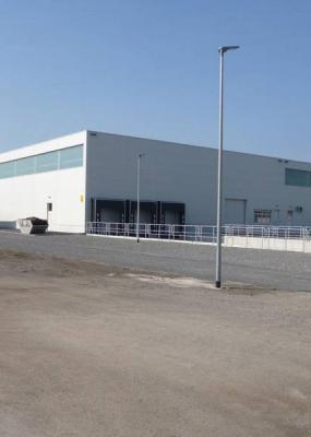 Neubau Produktions- und Lagerhalle BASF Schwarzheide