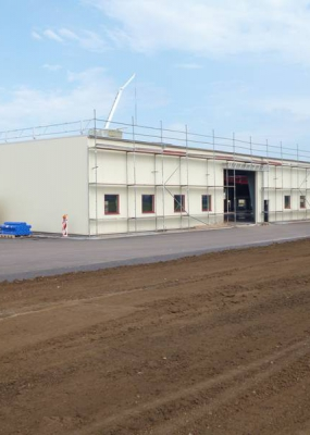 Neubau Produktionshalle SIG Sonneborn