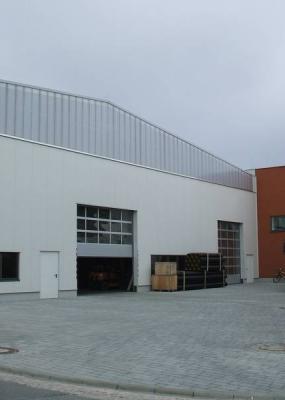 Neubau Produktionshalle RSP