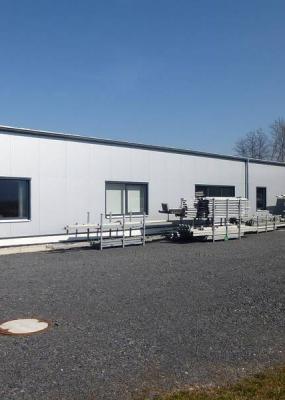 Neubau Betriebshalle Planen-Demuth