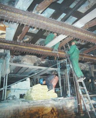 Sanierung Blockstoßofen