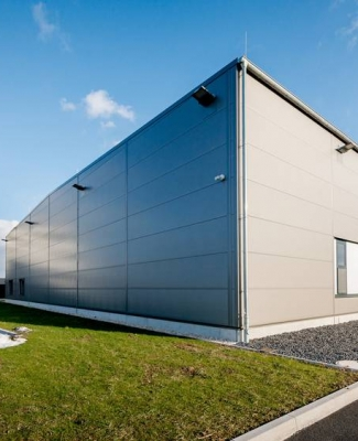 Logistikhalle Industrielackierung Biedermann